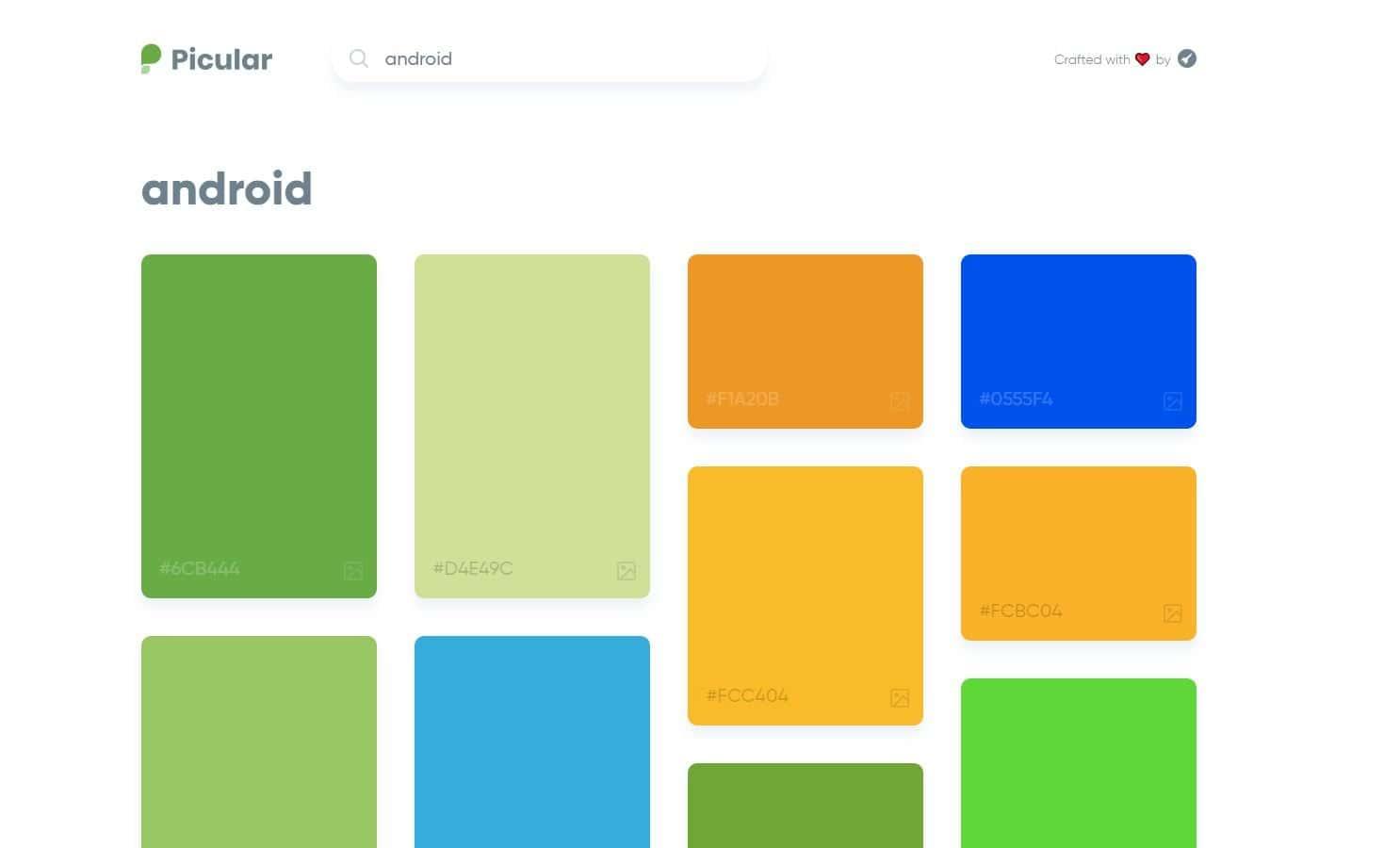 Picular, el Google de los colores