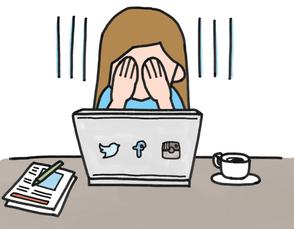 caída de redes sociales