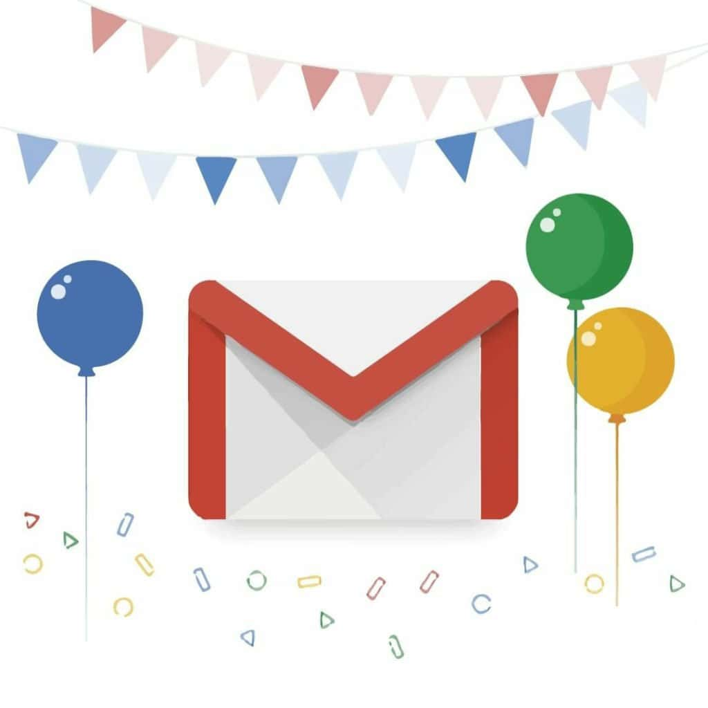 Gmail cumple 15 años